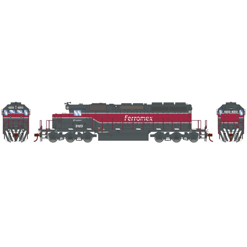 HO RTR SD40-2 with DCC & Sound FROMX New Scheme #3123