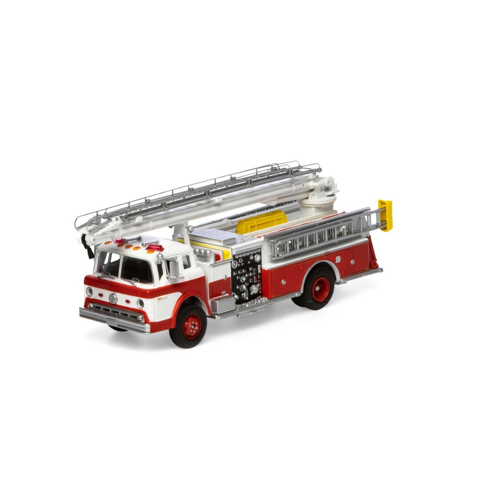 HO RTR Ford C Telesqurt, Red & White