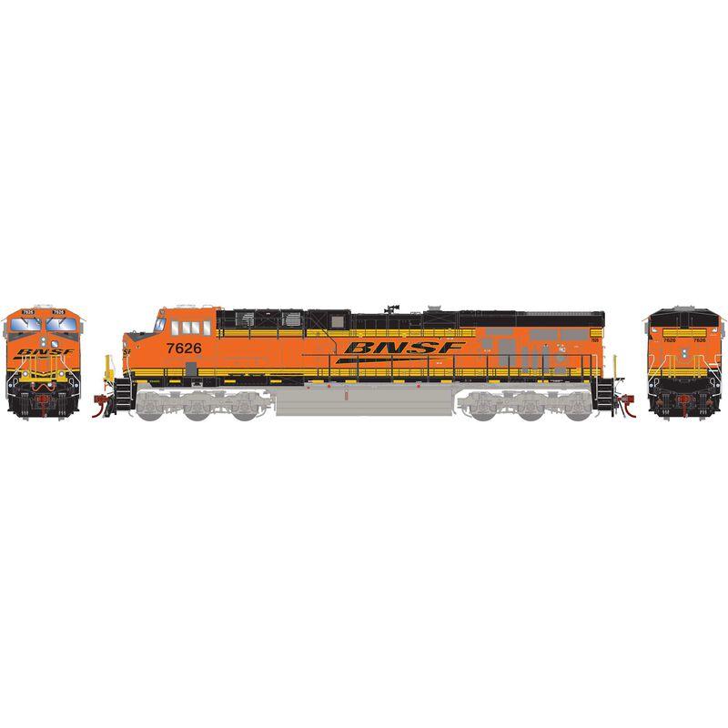 HO ES44DC BNSF H2 #7626