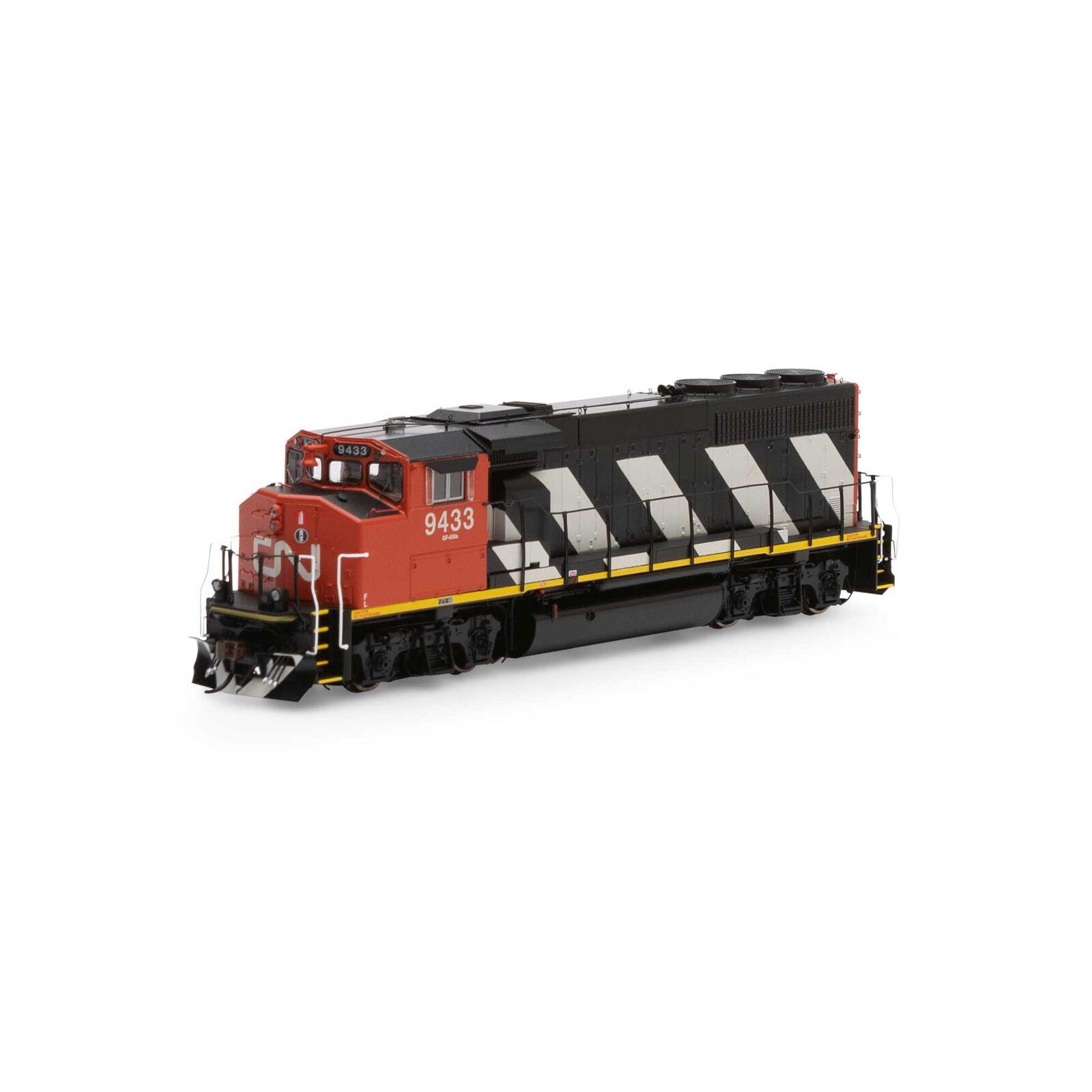 HO GP40-2L with DCC & Sound, CN #9433