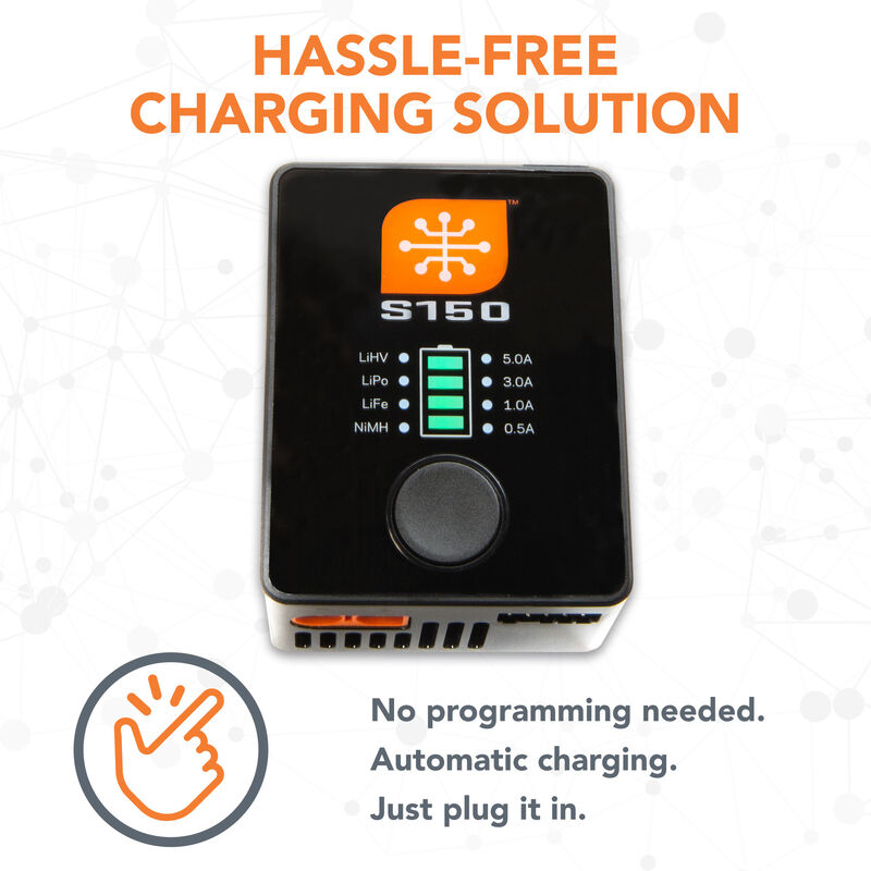 S150 AC/DC Smart Charger, 1x50W