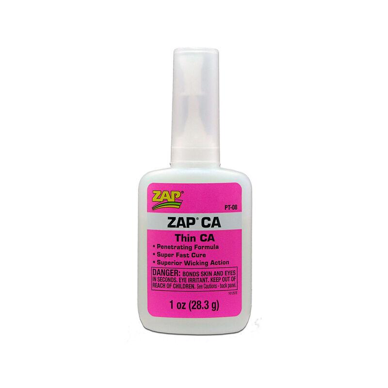 Zap Thin CA Glue, 1 oz