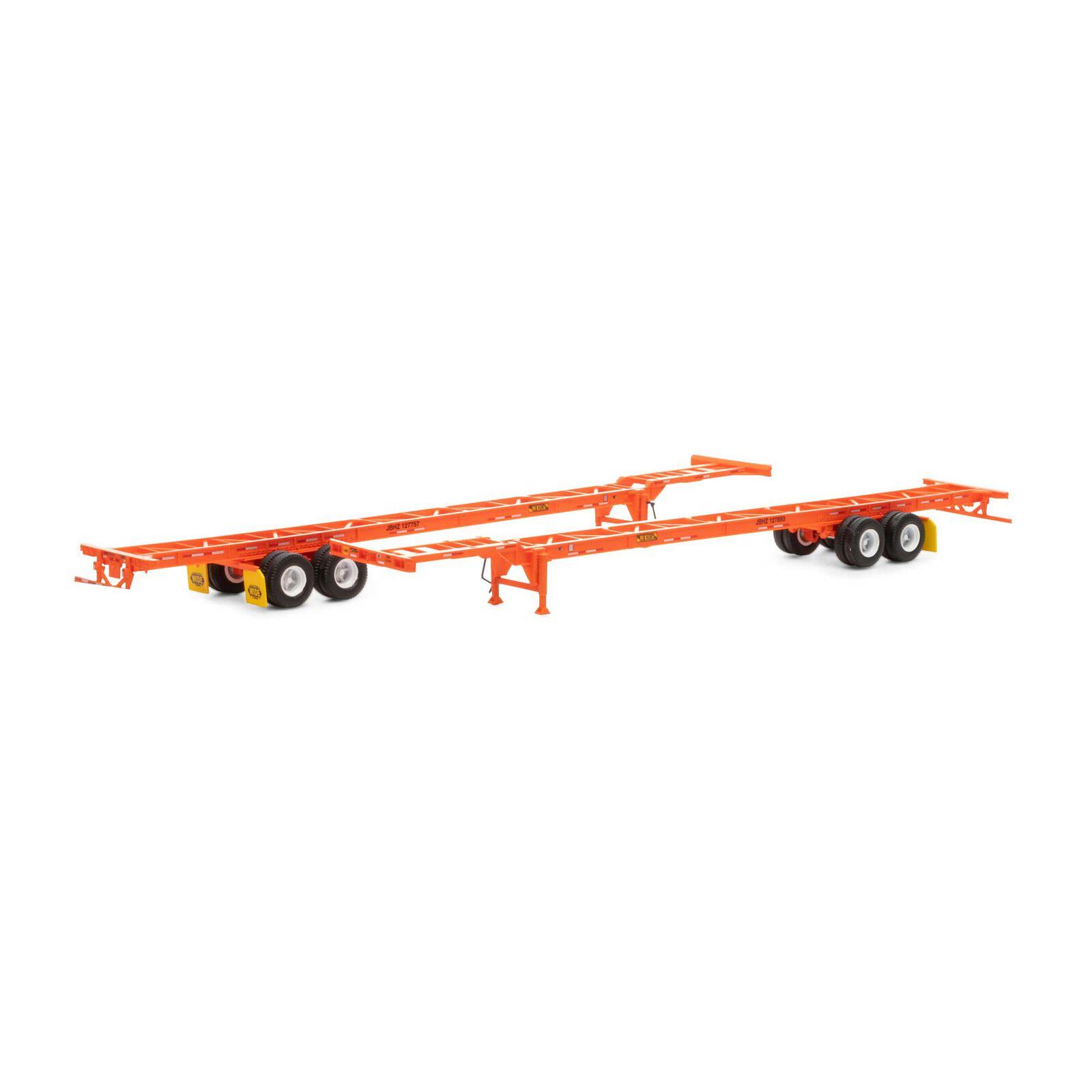 HO RTR 53' Chassis, JB Hunt (2)