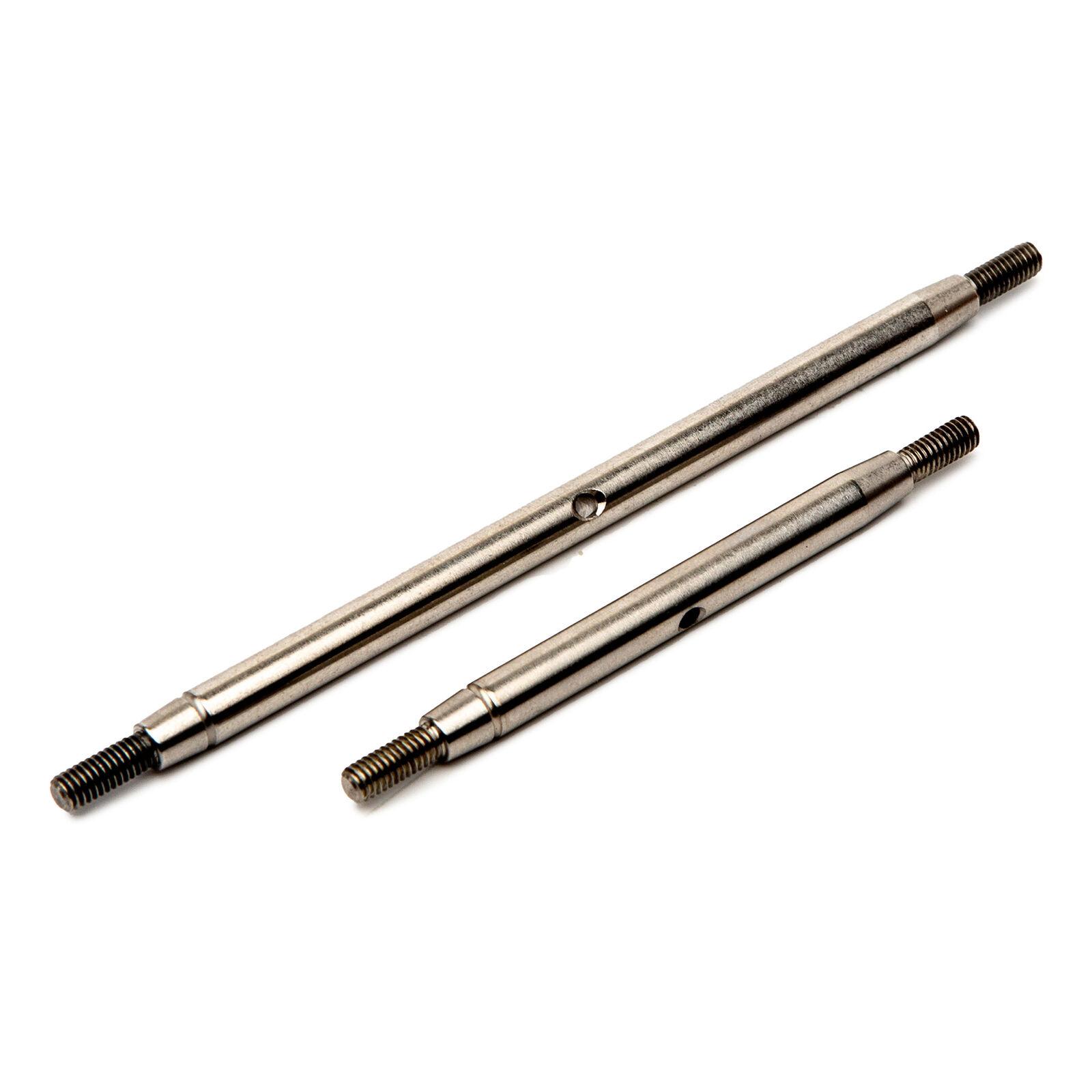 Steering Links Stainless Steel: SCX10 III Std Axle