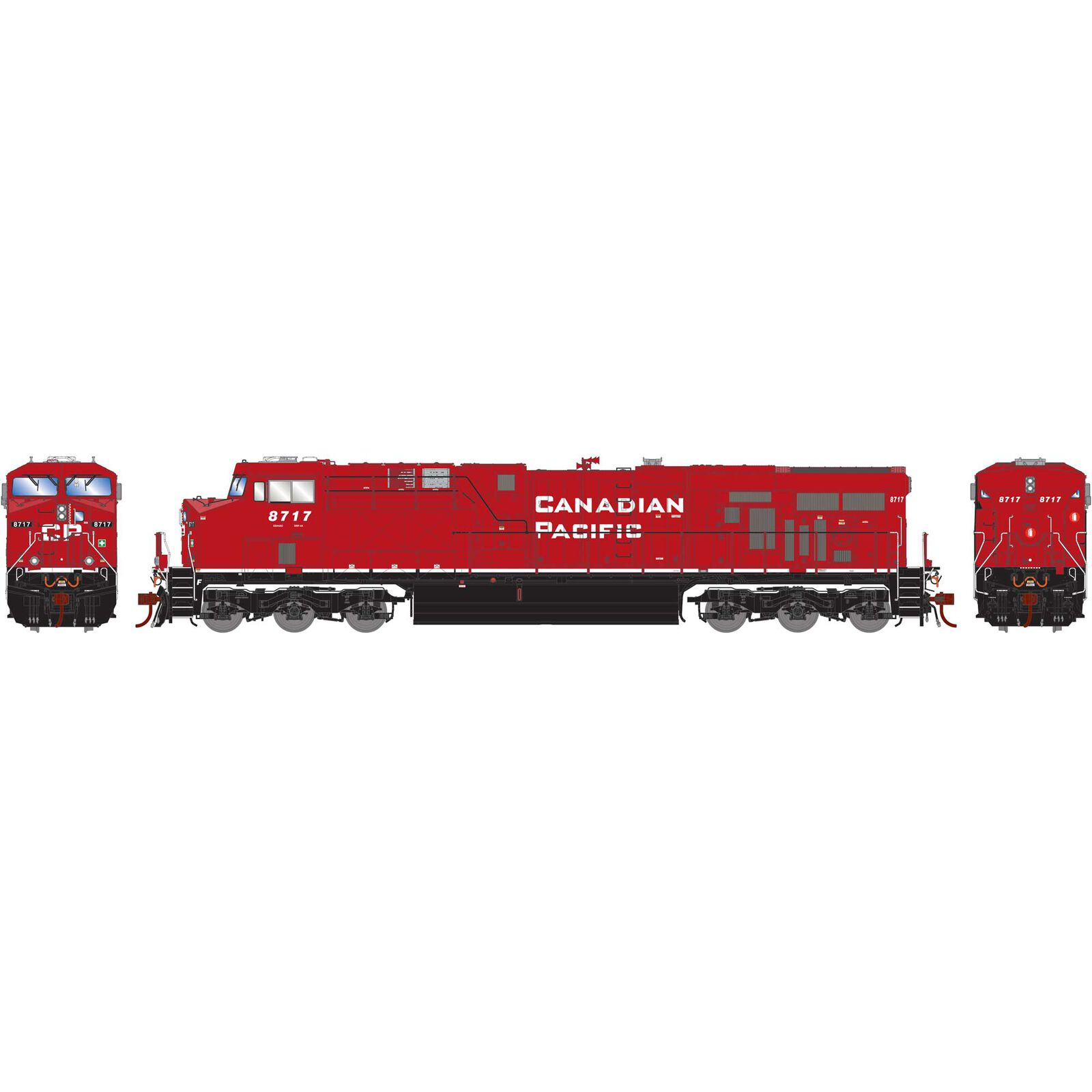 HO ES44AC w DCC & Sound CPR As Delivered #8717