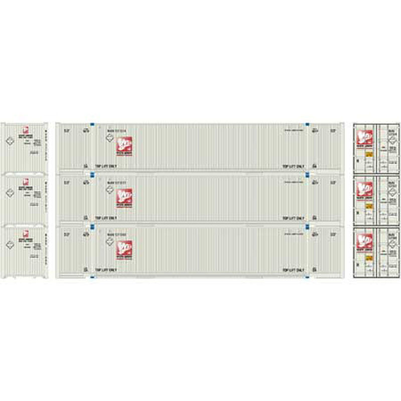 HO RTR 53' Jindo Container White Arrow (3)