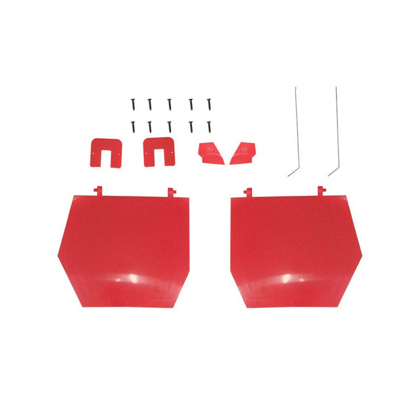 Main Gear Doors: Red Arrow 80mm