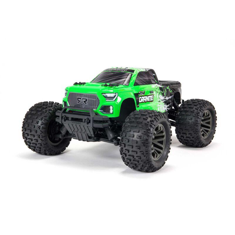 1/10 GRANITE 4X4 V3 3S BLX Brushless Monster Truck RTR, Green