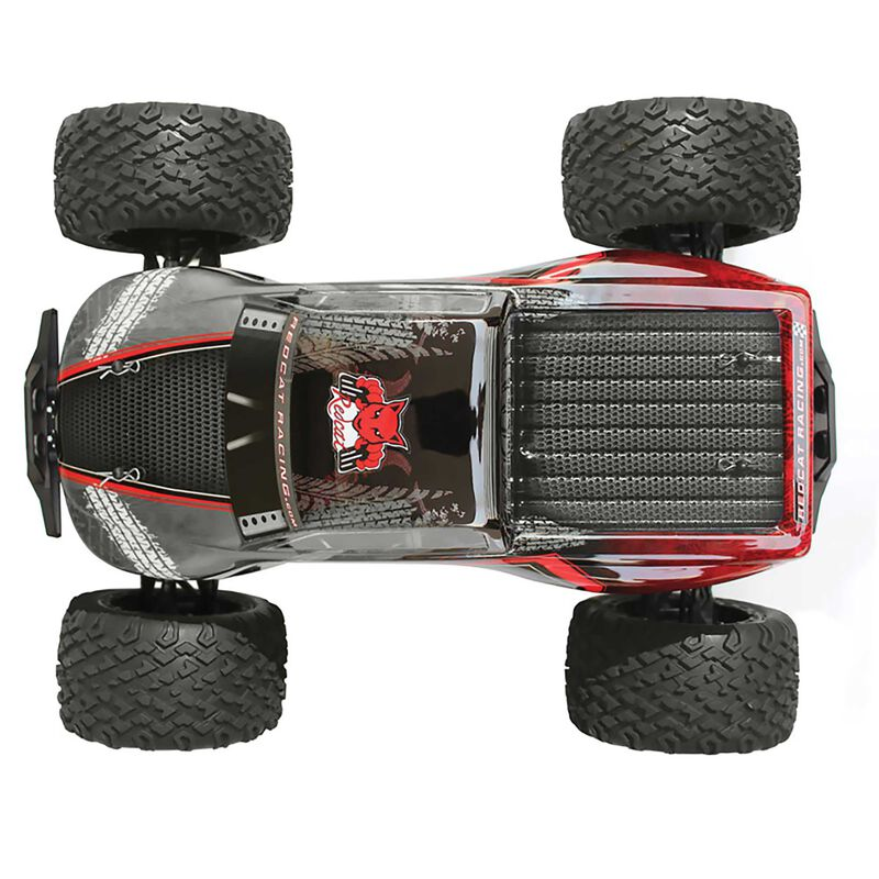 1/8 Terremoto V2 4WD Monster Truck Brushless with Dual LiPo RTR, Red