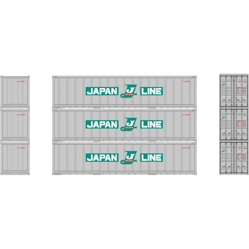 N 40' Smooth Side Container Japan Line (3)