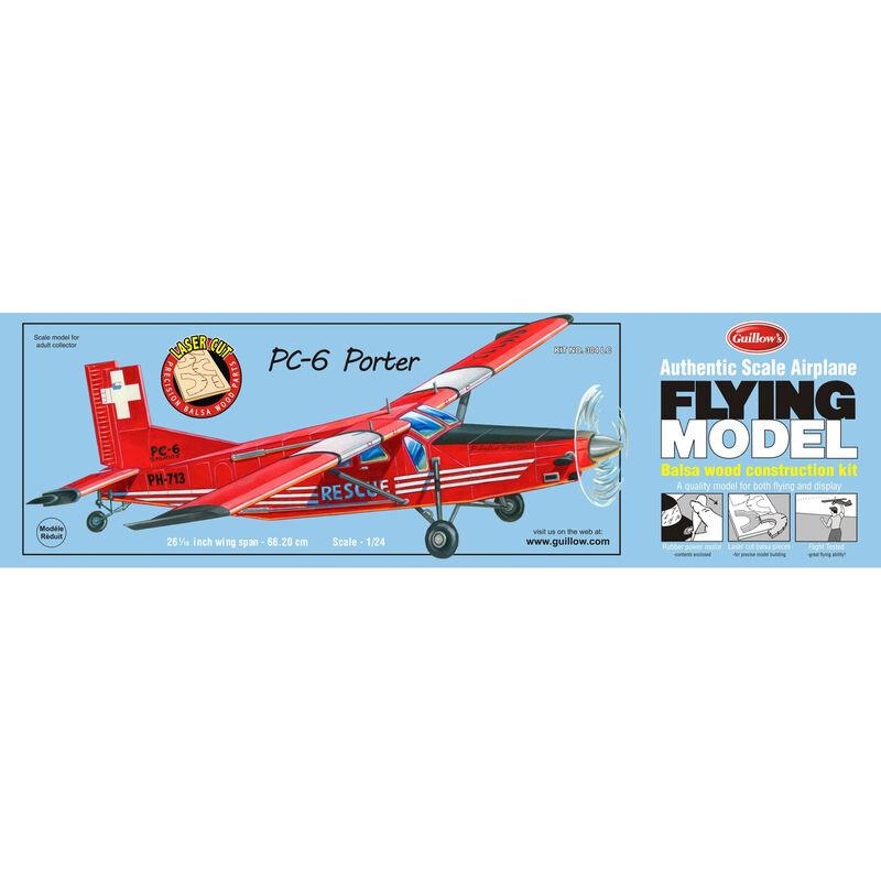 "PC-6 Porter Laser Cut Kit, 26"""
