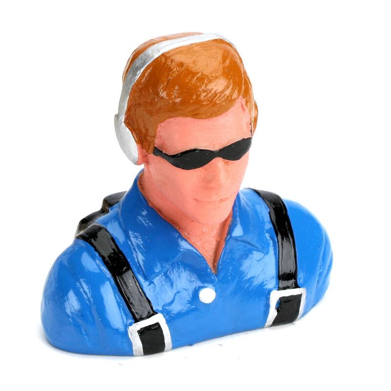 1/6 Pilot - Civilian, Headset and Sunglasses