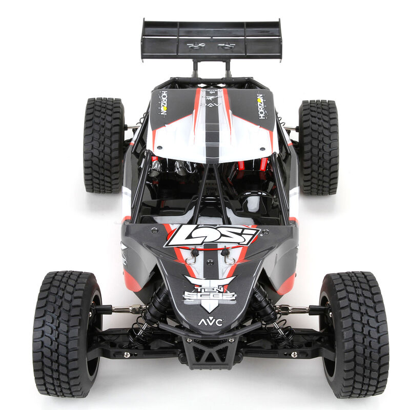 1/10 TEN-SCBE 4WD Brushless RTR with AVC, Orange