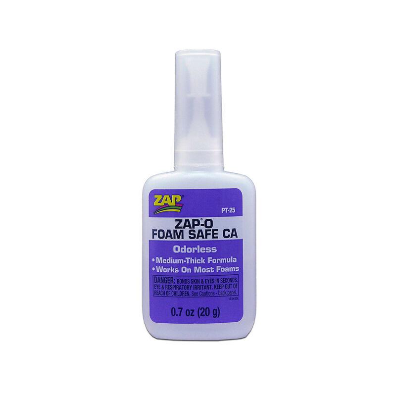 ZAP-O Foam Safe CA Glue, .7 oz