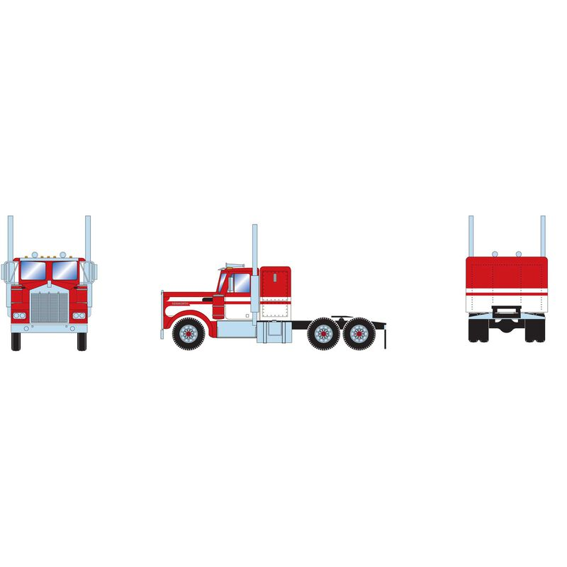 HO RTR Kenworth Tractor, White/Red