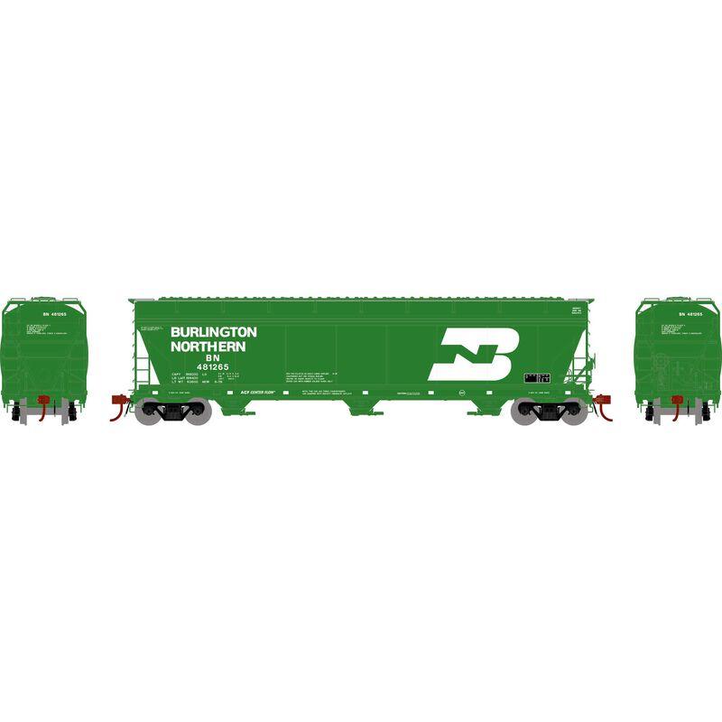 N ACF 4600 3-Bay Centerflow Hopper, BN #481265