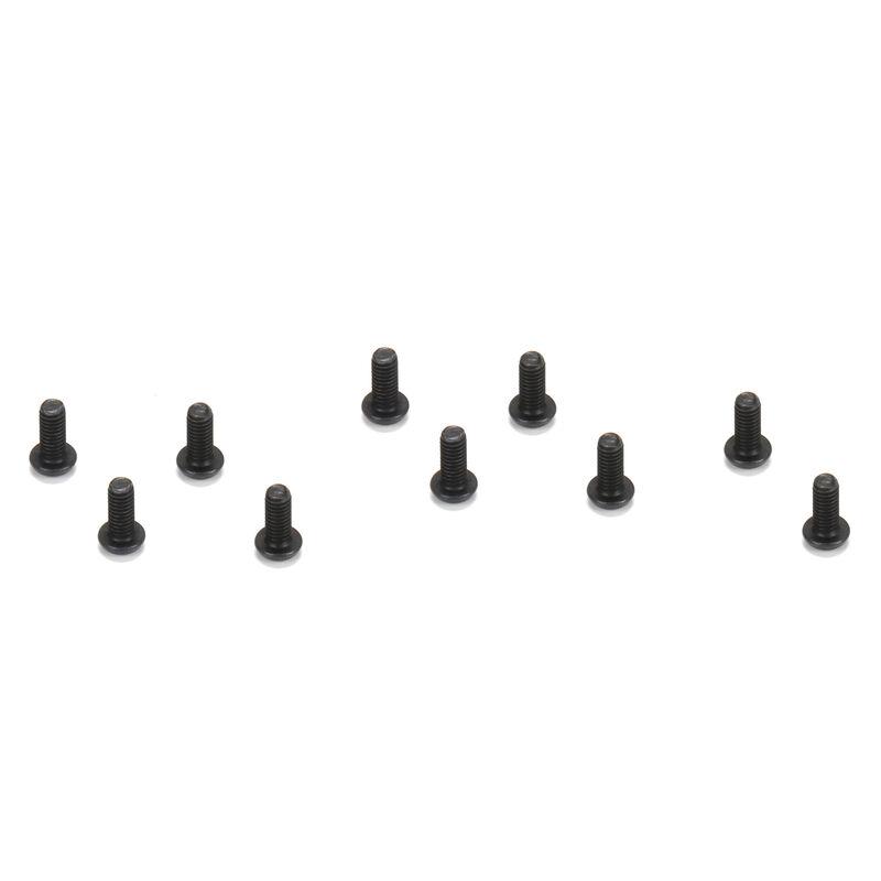 Button Head Screws, M2.5 x 8mm (10)