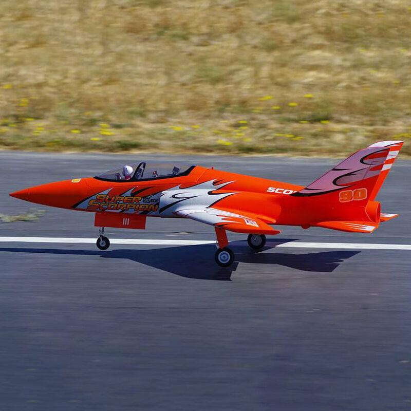 Super Scorpion 90mm EDF Jet PNP, 1140mm