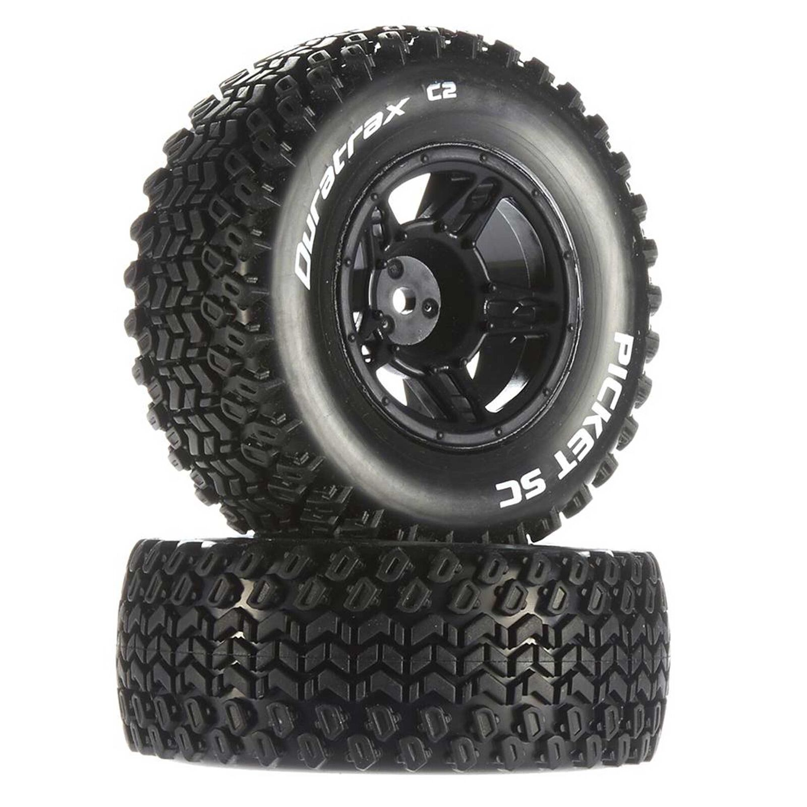 Picket SC C2 Mounted Tires: Traxxas Slash Front (2)