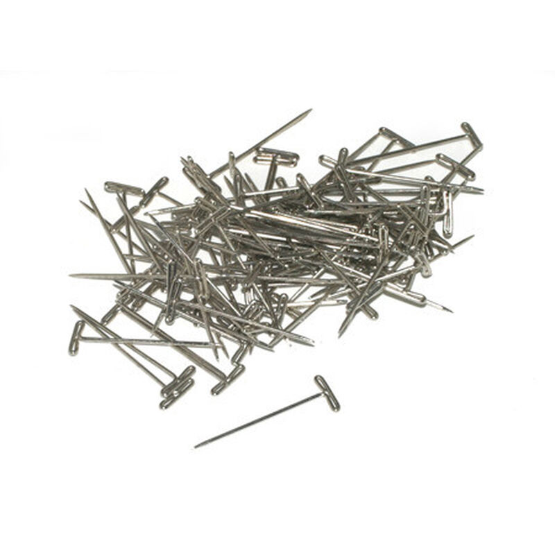 """T-Pins, Nickel Plated, 1-1/4"""" (100)"""