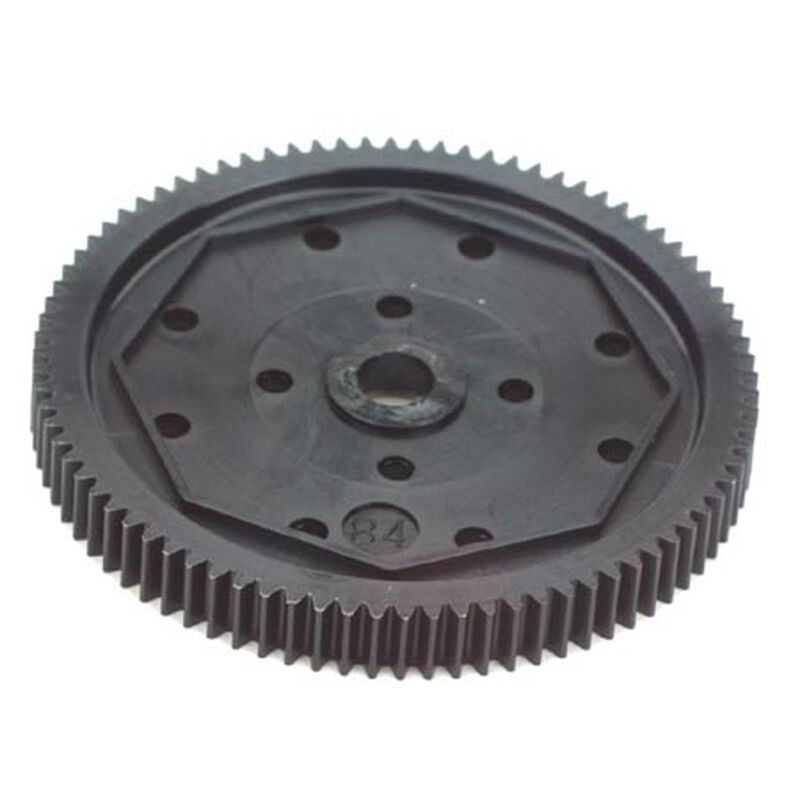 Spur Gear, 84T, 48P: B4/T4