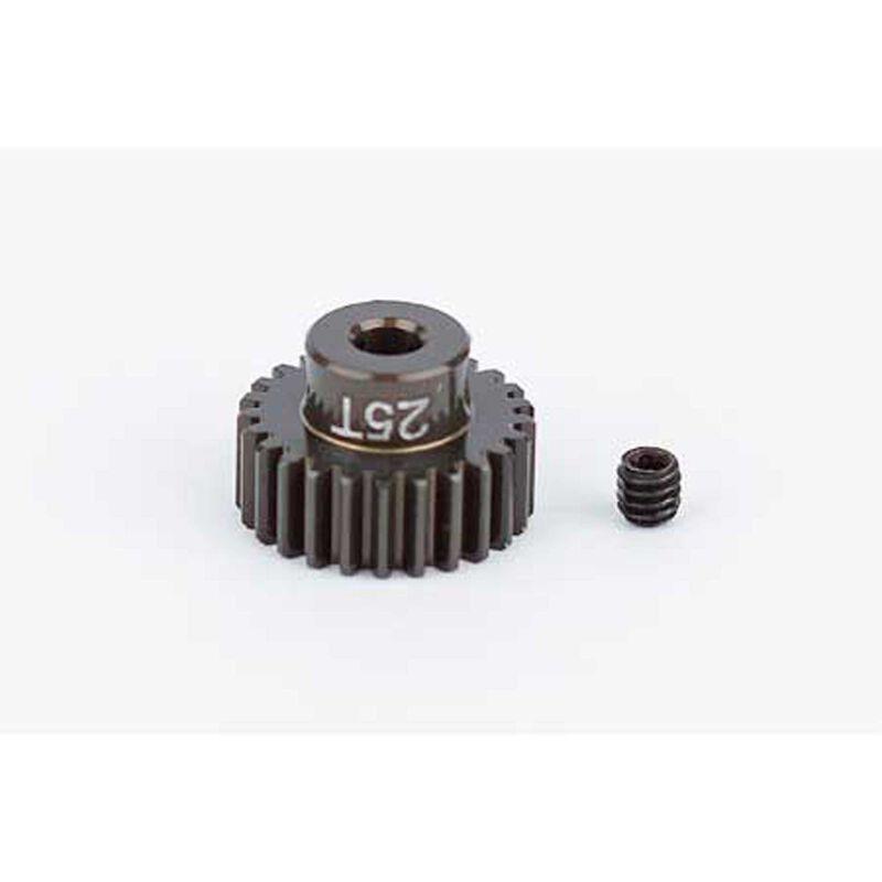 Factory Team Aluminum Pinion Gear, 25T, 48P, 1/8 shaft