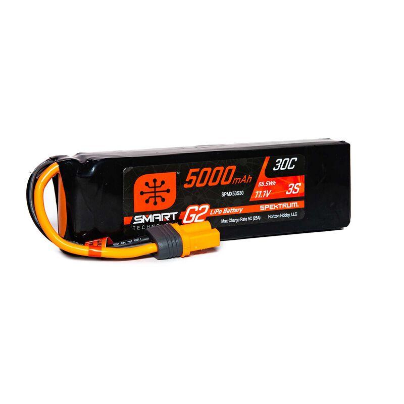 11.1V 5000mAh 3S 30C Smart LiPo G2: IC5