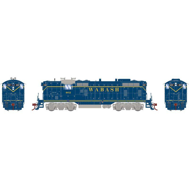 HO GP7 with DCC & Sound Wabash Blue #462