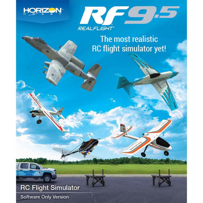 RealFlight 9.5 Flight Simulator, Digital Download