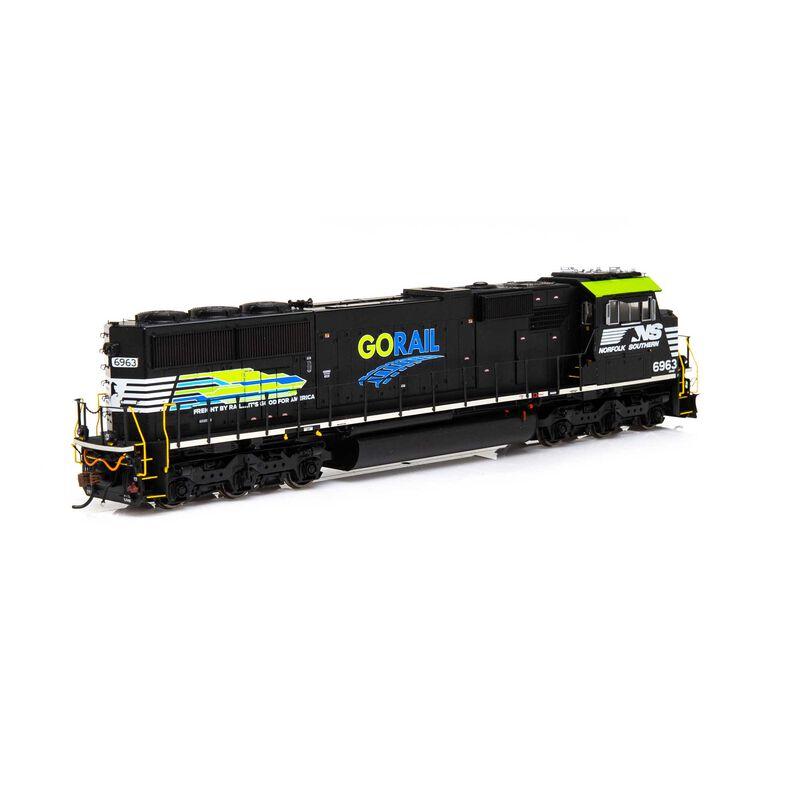 HO SD60E NS GoRail #6963