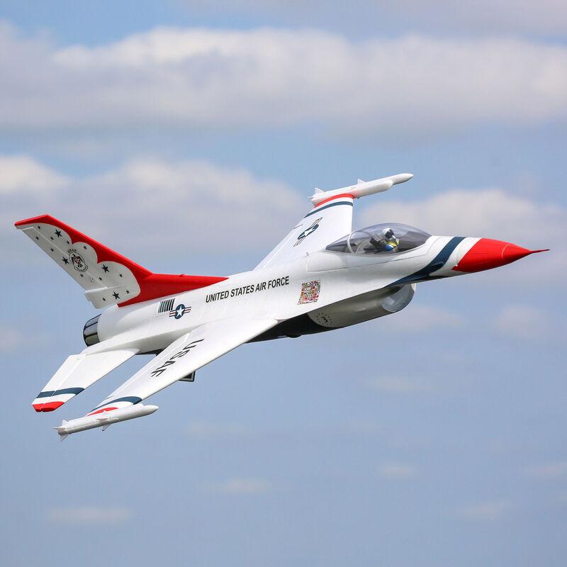 F-16 Thunderbirds 70mm EDF PNP, 815mm