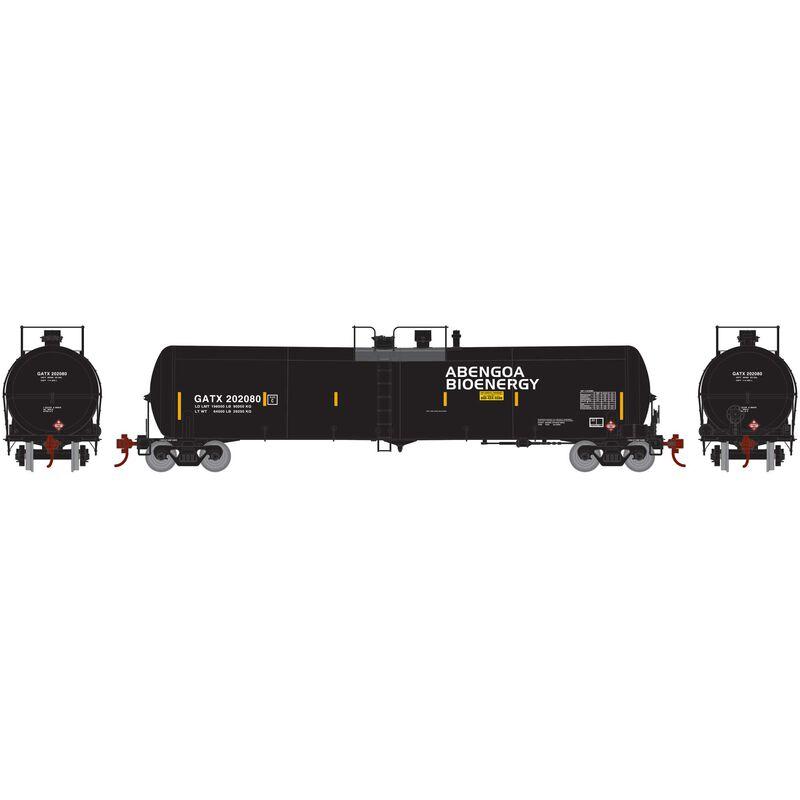 HO RTR 30 000 Gallon Ethanol Tank GATX #202080