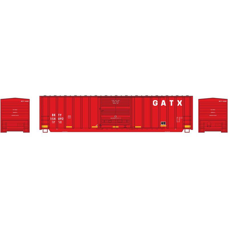 N 50' Berwick Box GATX #154092
