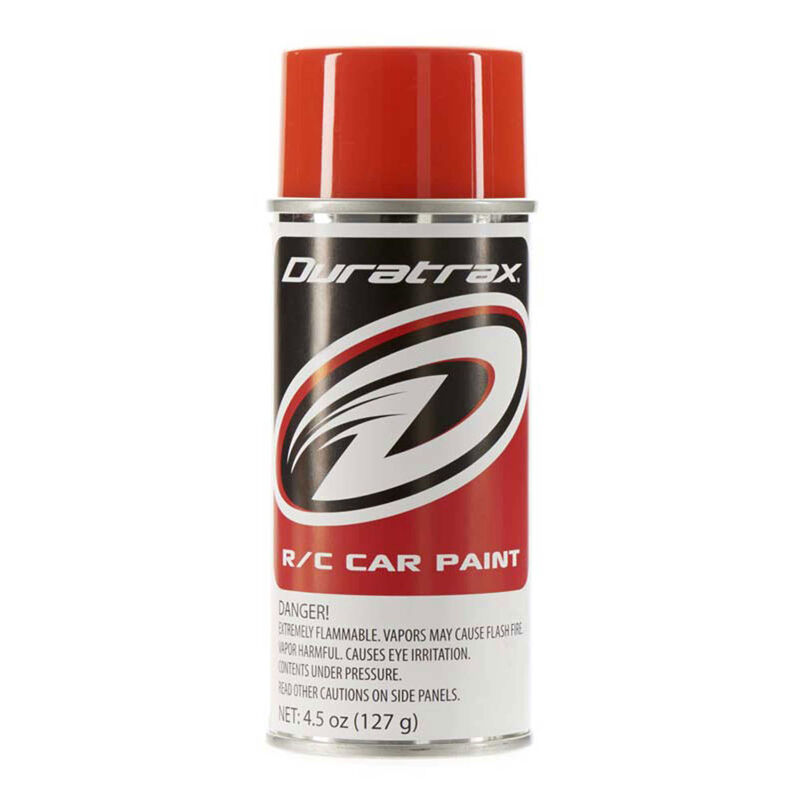 Polycarb Spray, Competition Orange, 4.5 oz