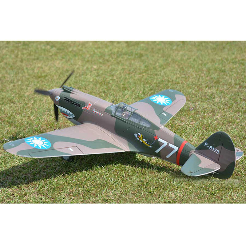 P-40B Tomahawk Flying Tigers PNP, 1400mm