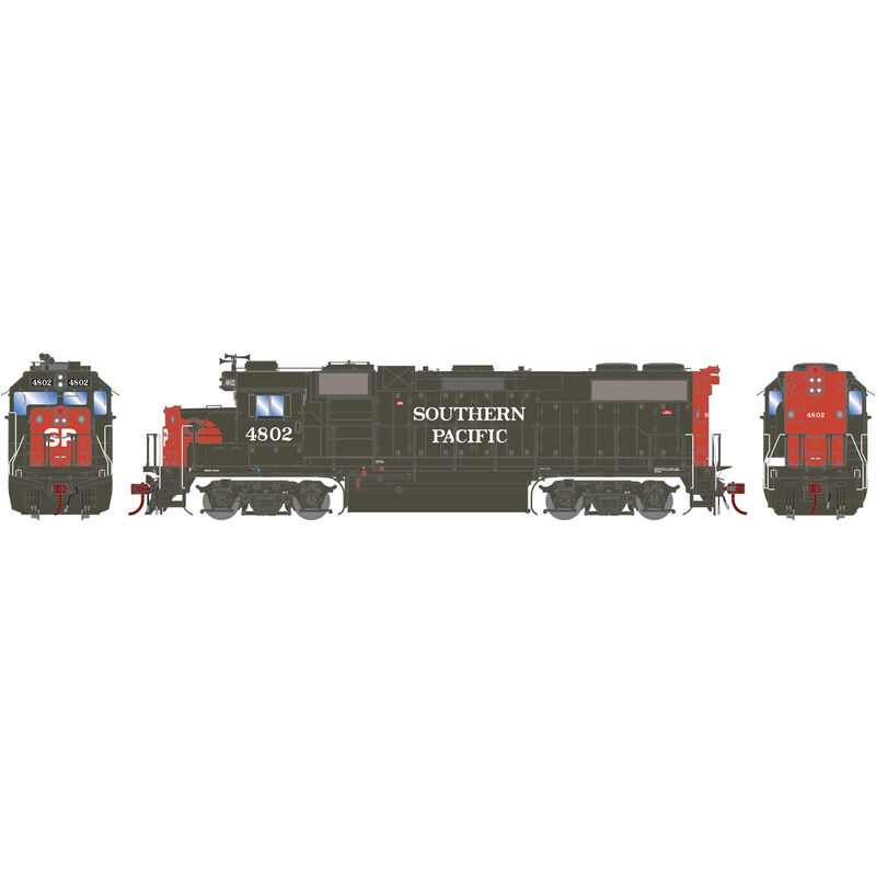 HO GP38-2 EMD SP #4802