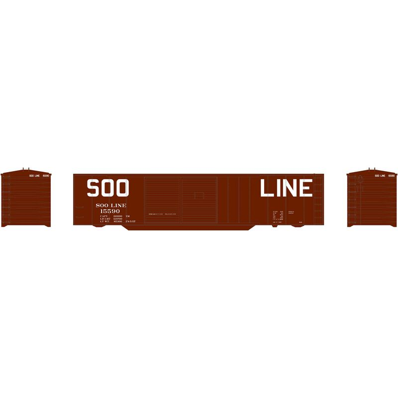 50' Double Sliding Door Box SOO #15590