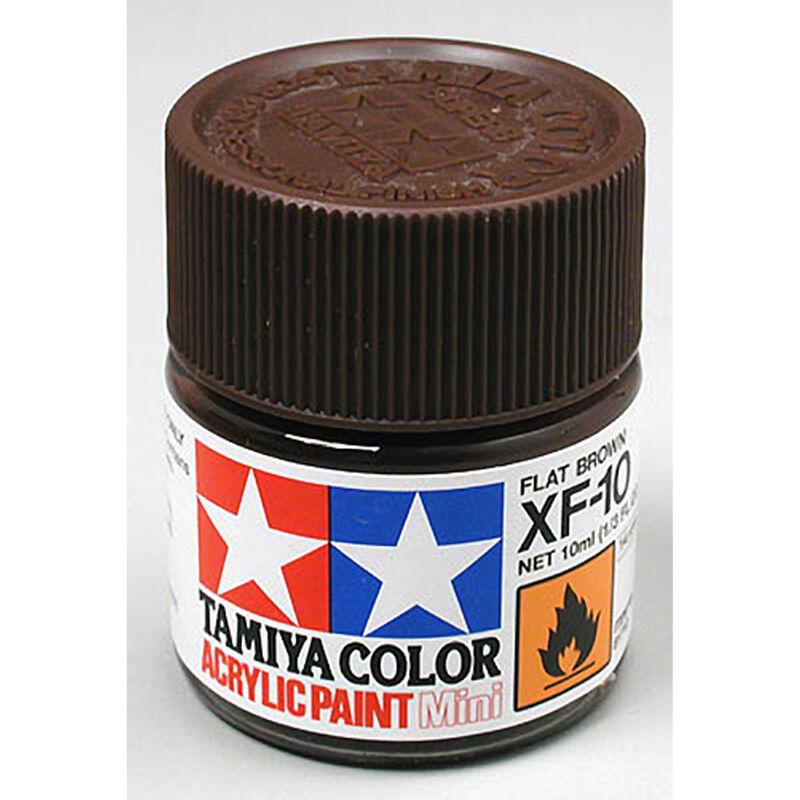 Acrylic Mini XF10, Flat Brown