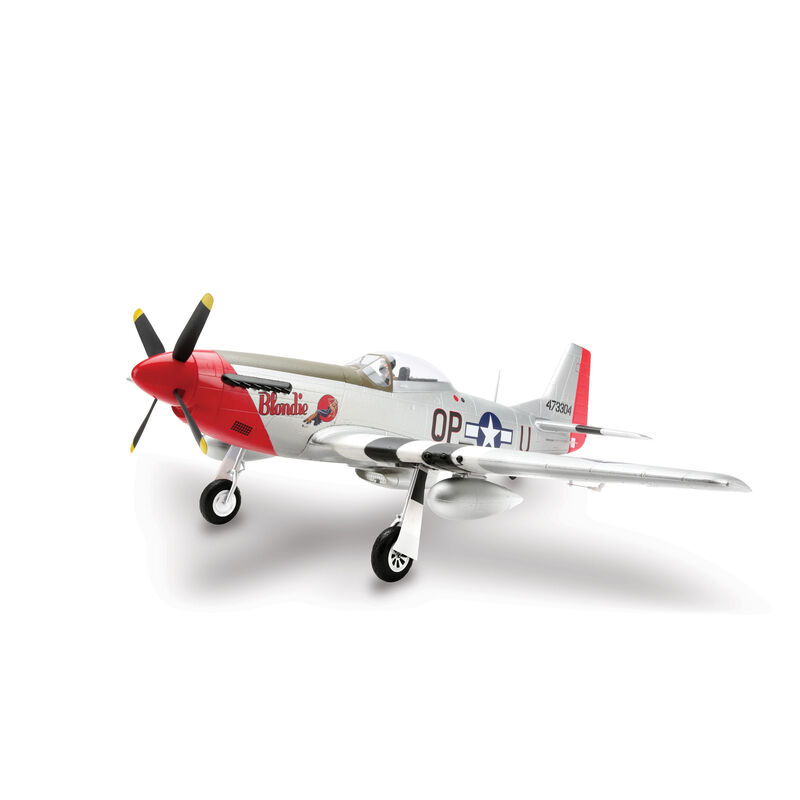 P-51D Mustang 1.2m BNF Basic with AS3X