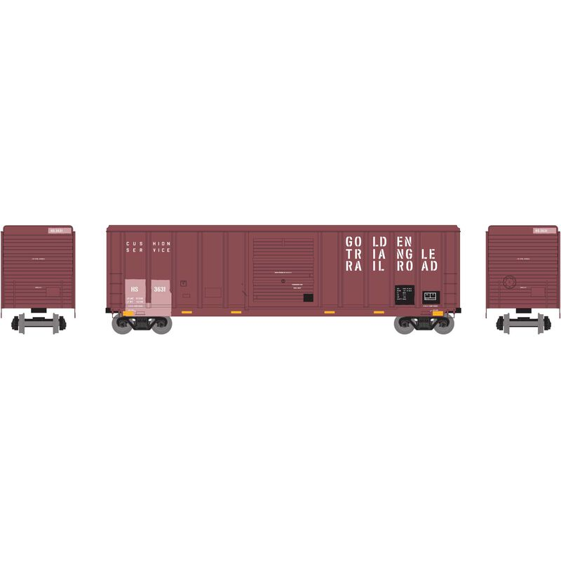 HO RTR 50' PS 5344 Box HS Ex-GTRR #3631