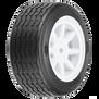 1/10 PROTOform VTA Front 26mm VTA Tires Mounted 12mm Wht Wheels (2)