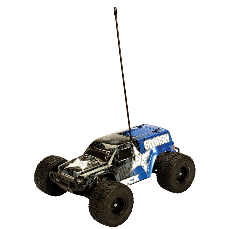 2WD 1/18 Smash Monster Truck RTR, Blue