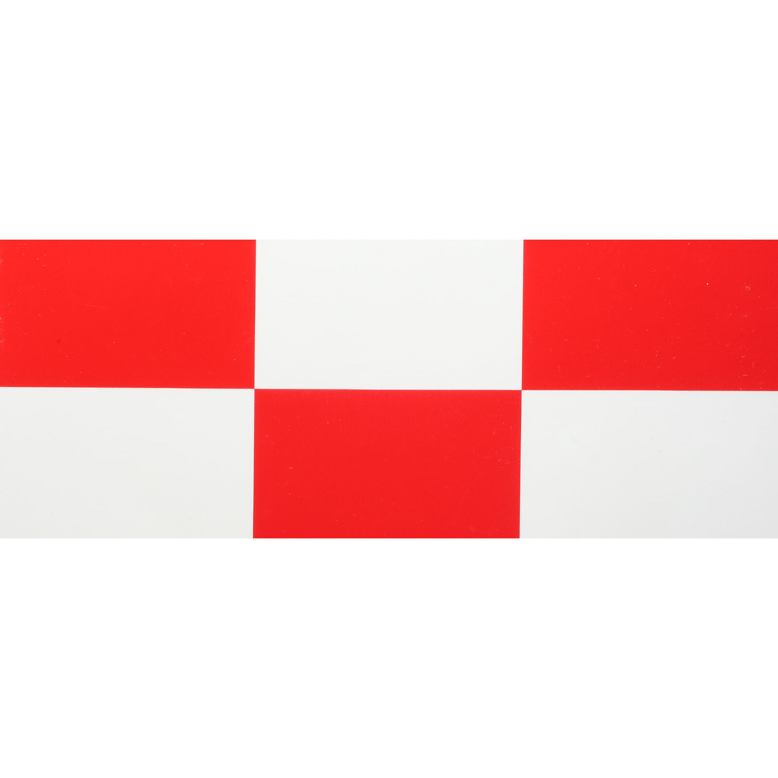 """UltraCote, 2"""" Squares, White/Red"""