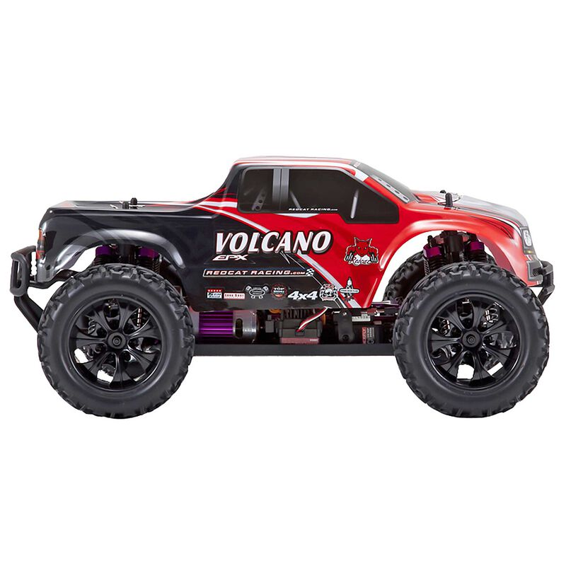 1/10 Volcano EPX 4WD Monster Truck Brushed RTR, Red