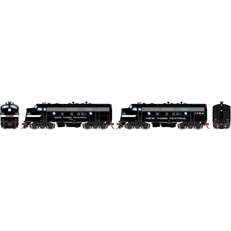 HO F7A F7A with DCC & Sound NYC Freight #1699 #1704