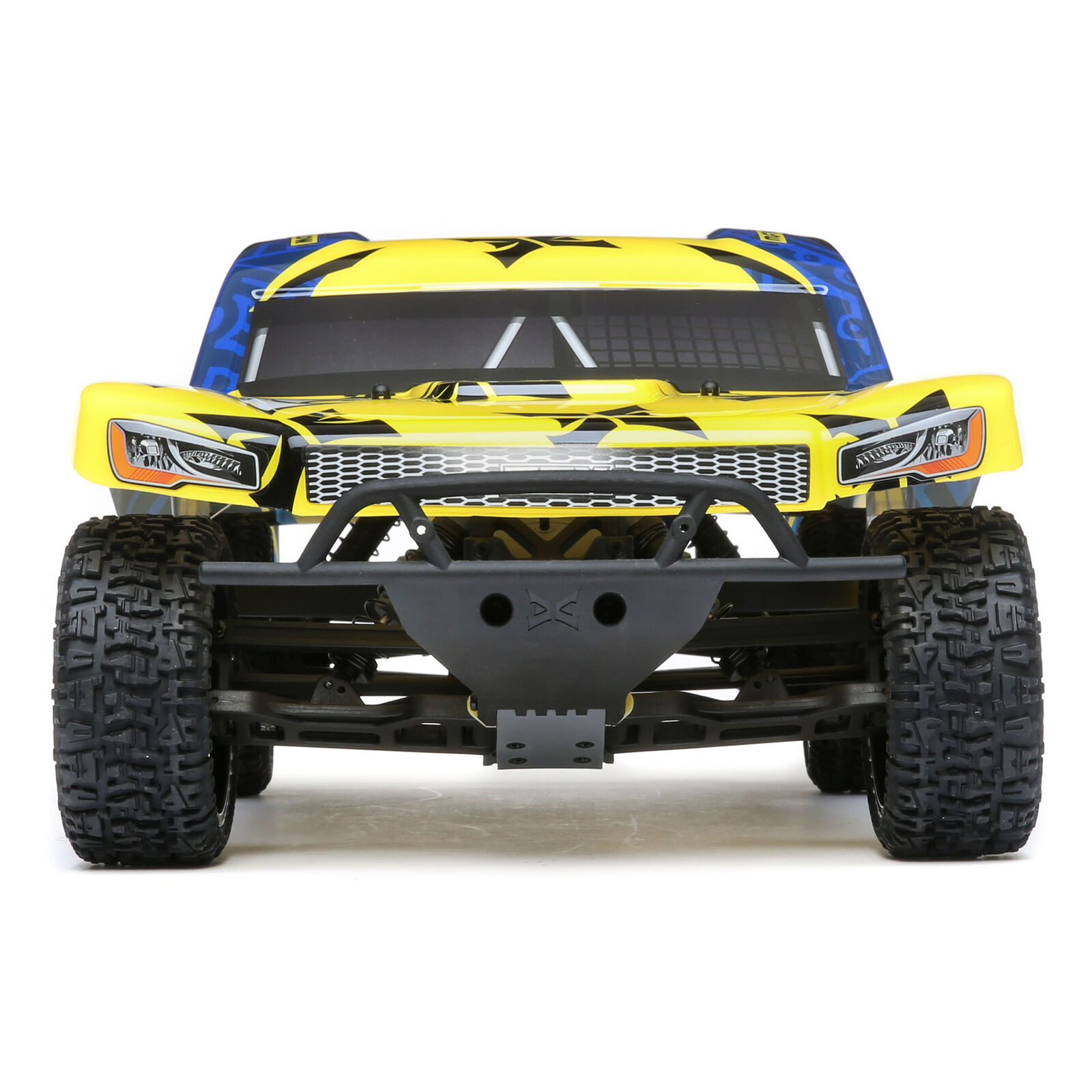 1/10 Torment 2WD SCT Brushed RTR, Yellow/Blue