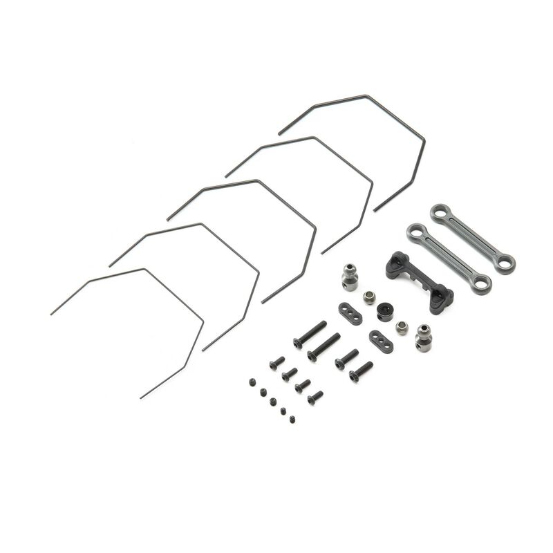 Rear Sway Bar Set: 22 4.0 Laydown