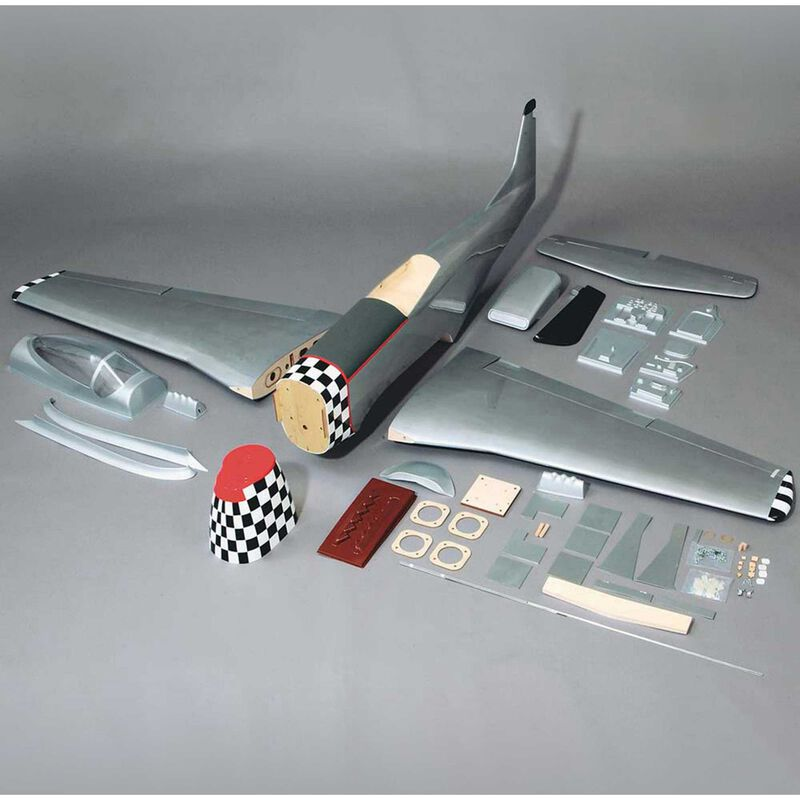 1/5 Giant P-51D Mustang RTC, 84.5""