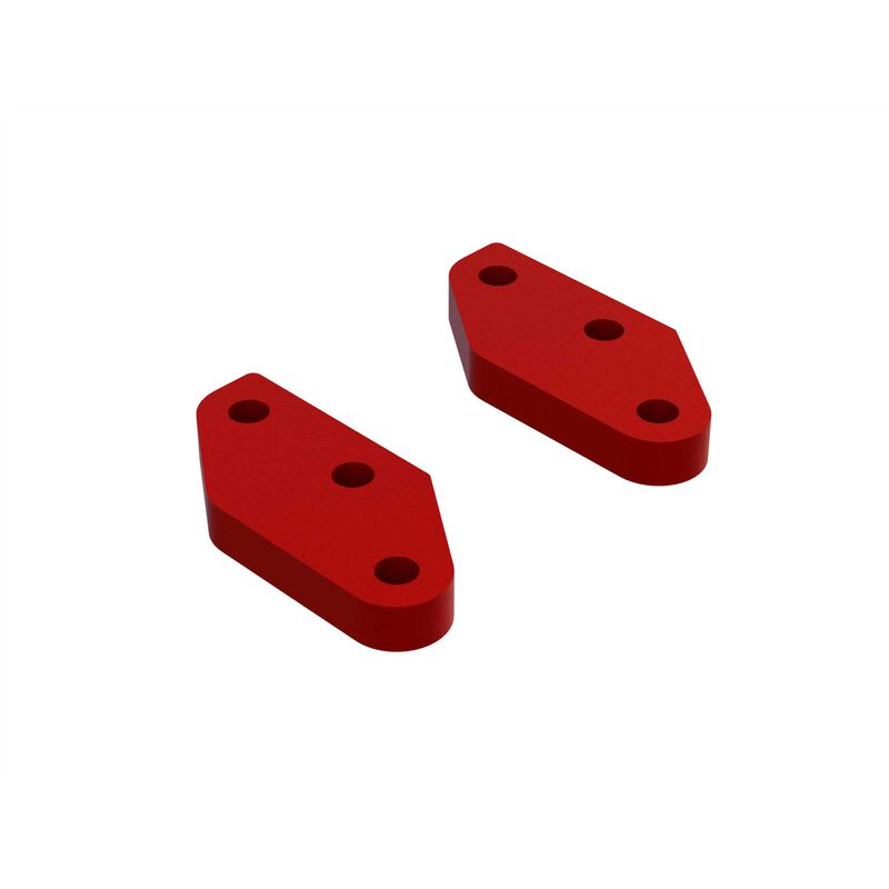 Aluminum Steering Plate A (Red) (2)
