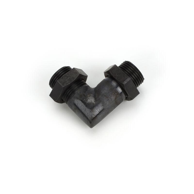 Muffler Right Angle Manifold, M13: 125a, FG-20